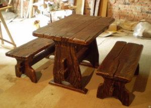 Мебель из дерева для дачных садовых домов и беседок